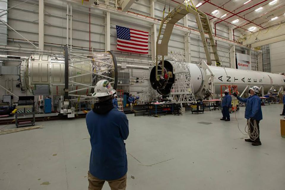 Продолжается подготовка к 14-му пуску ракеты-носителя «Антарес»