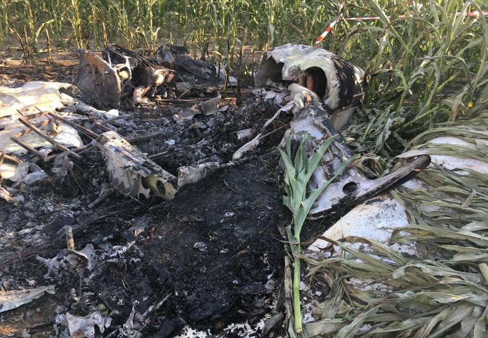 Beechcraft разбился в Наливайковке из-за ошибок пилотов