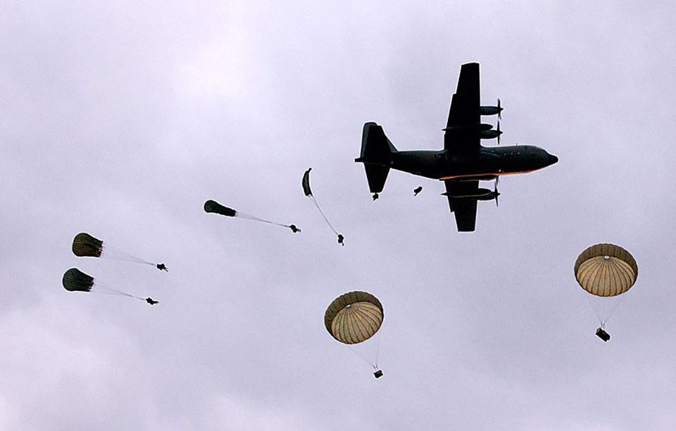 Украинские десантники будут прыгать с «Геркулеса»
