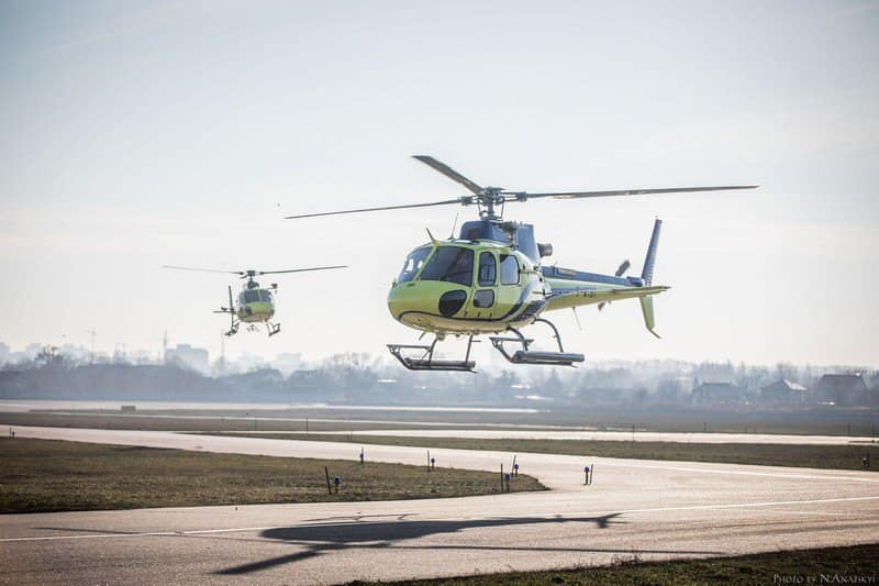 Авиаторы-пограничники  осваивают вертолеты Н125