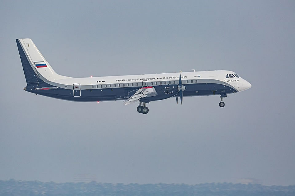 У Ил-114 отказал двигатель во время испытаний