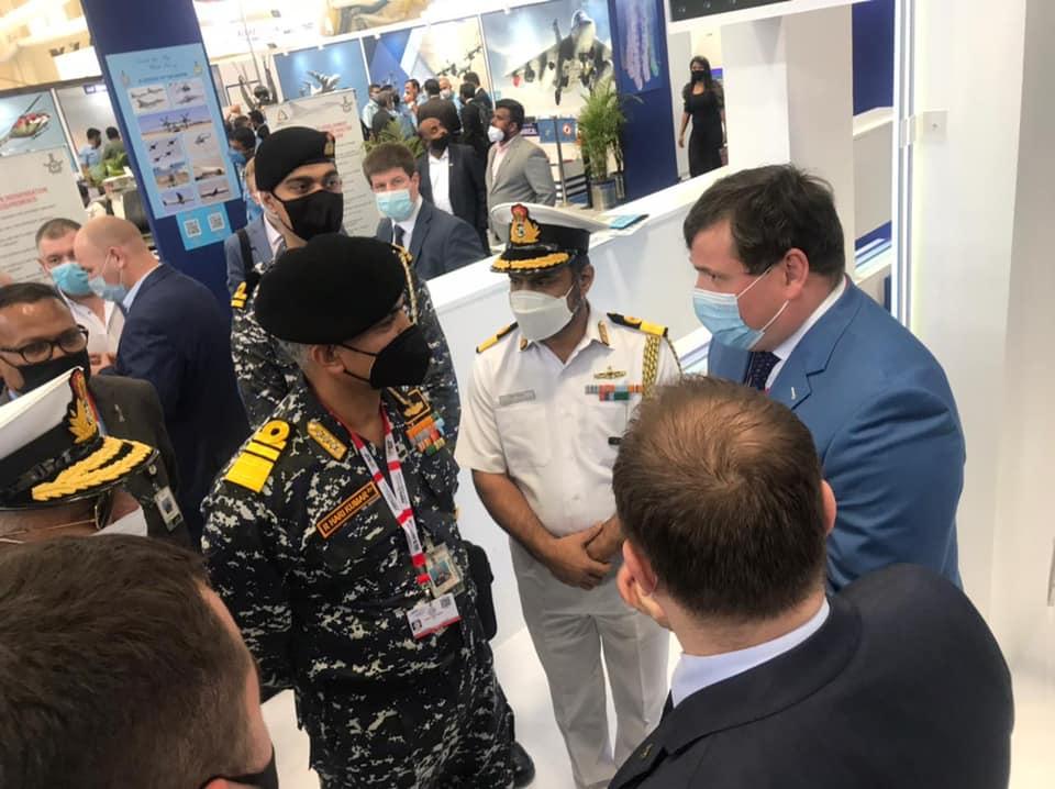 Украина подписала 4 договора на Aero India 2021