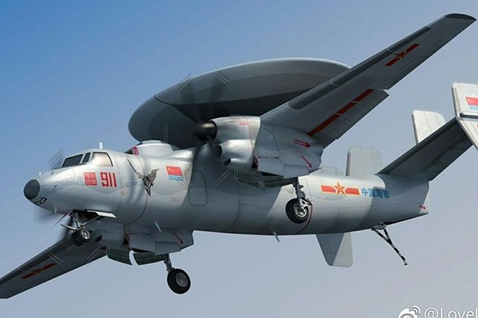 Китай испытывает летающий радар на основе Ан-24