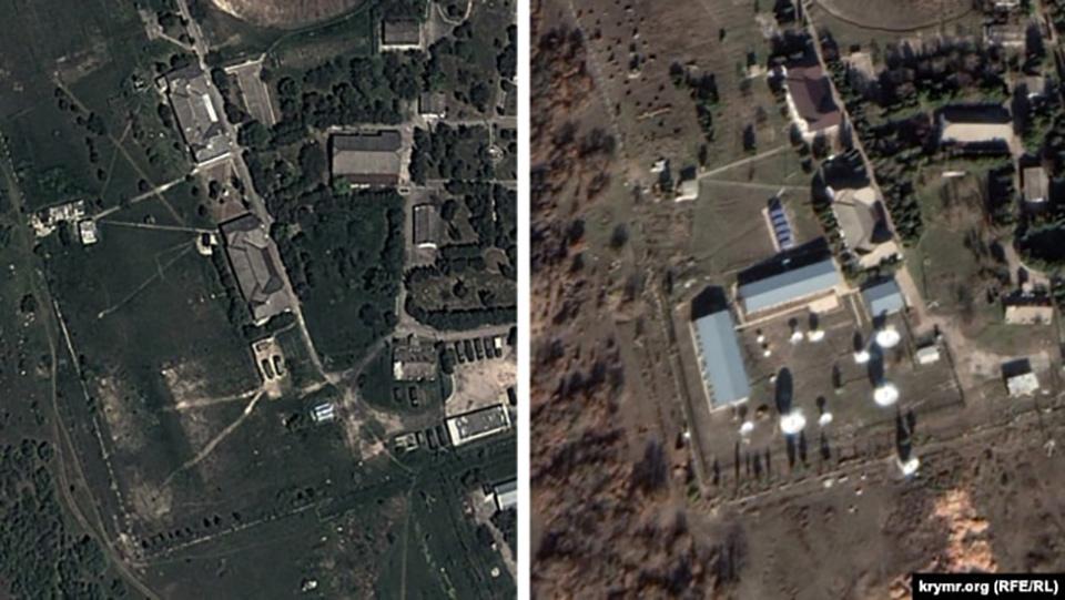 Украинский космический центр зафиксировал новые военные объекты в Крыму