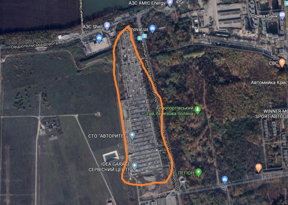 Мэрия Одессы поддержала аэропорт в конфликте с гаражными кооперативами