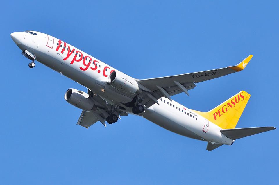 Pegasus начинает летать из Одессы в Стамбул