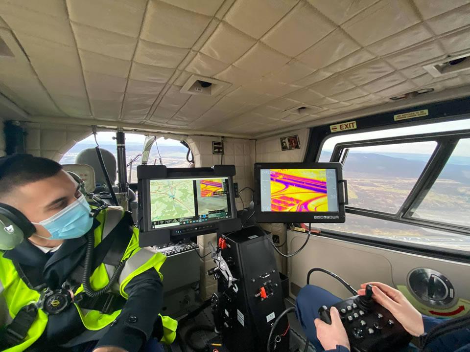 Украинская воздушная полиция изучает венгерский опыт