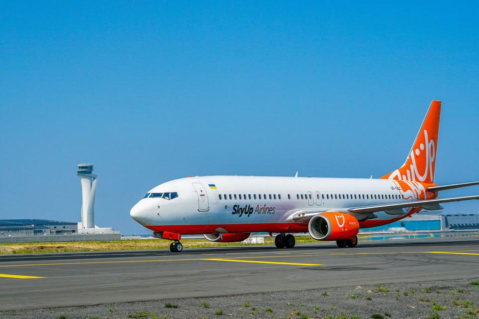 SkyUp отказывается от внутренних рейсов