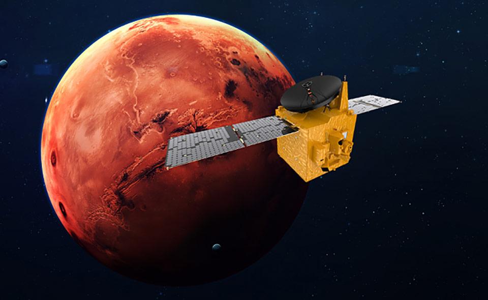 Зеленский поздравил ОАЭ с выходом на орбиту Марса