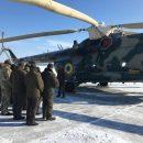 Нацгвардейцы провели тренаж по вынужденному покиданию воздушного судна