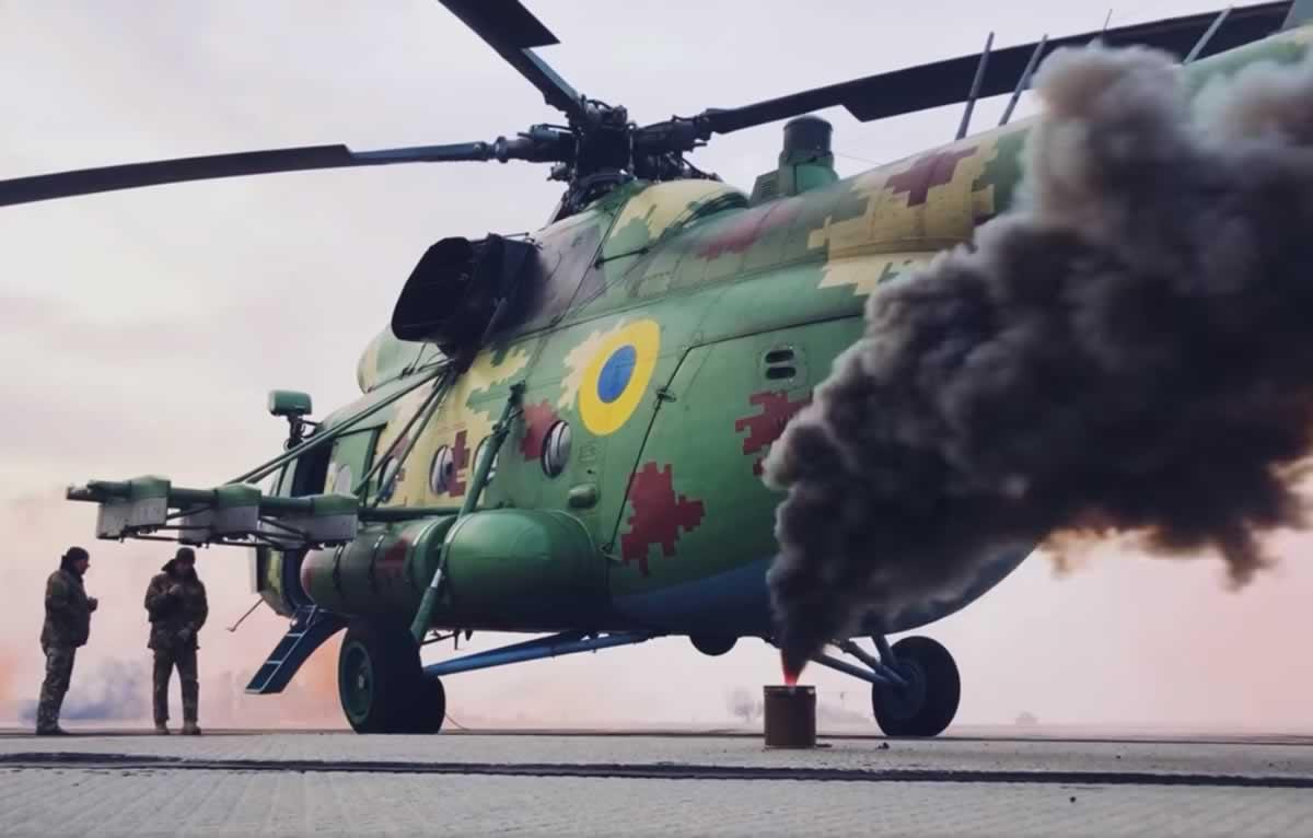 Винницкие авиаторы тушили учебный пожар