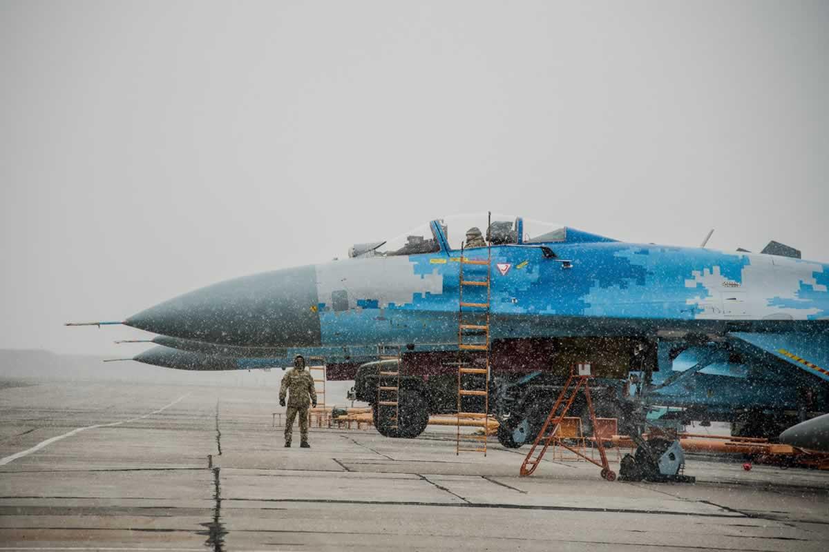 Миргородские истребители приняли участие в тренировках сил ПВО