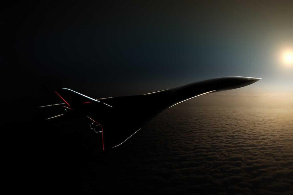 Авиалайнер Aerion AS3 будет летать в 4 раза быстрее скорости звука