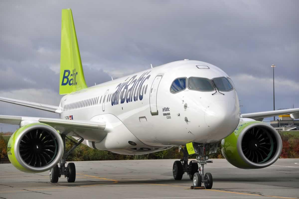 airBaltic возобновляет авиарейсы в Украину из Латвии
