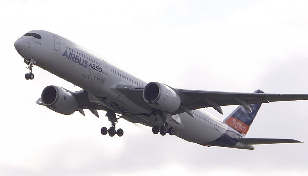 Airbus исследует снижение выбросов для полностью экологичного авиатоплива