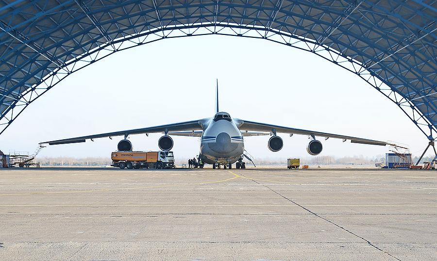 Хоккей в самолете Ан-124 «Руслан»: полета не было