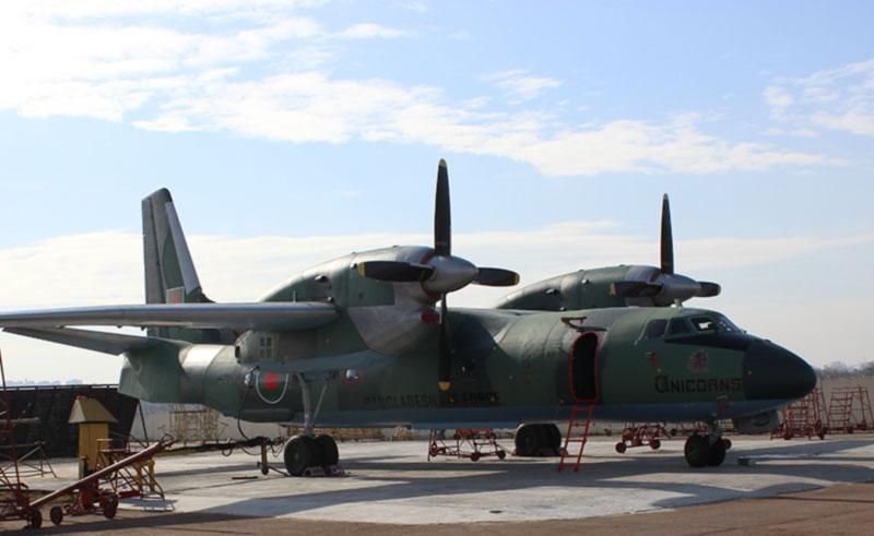 ЗАВОД 410 ГА модернизирует три самолета Ан-32Б  для Бангладеш