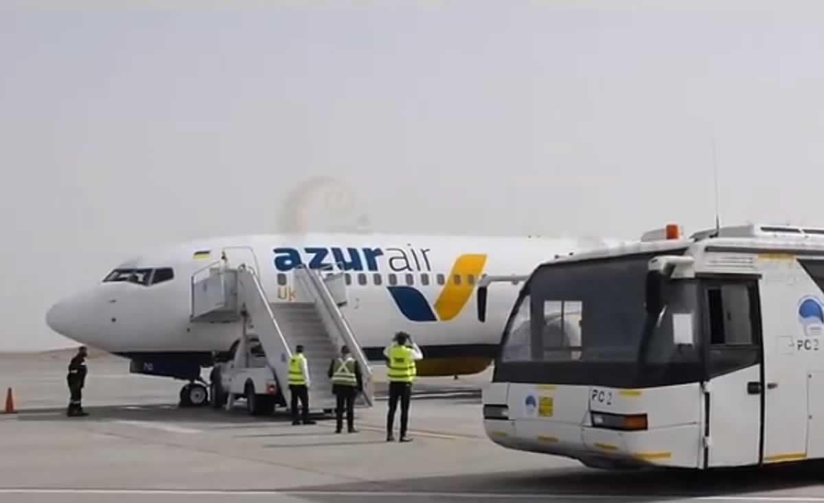 Azur Air Ukraine выполнила первый рейс в Марса Алам