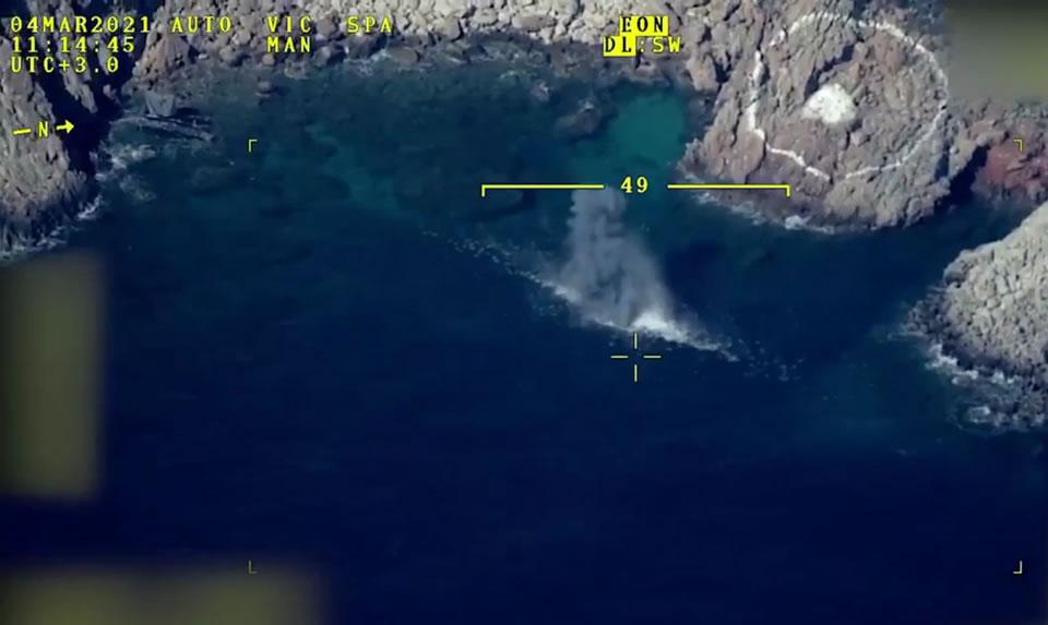 Bayraktar провел испытания по морской цели