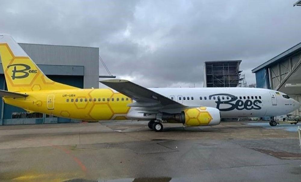 Cамолет Bees Airlines не успевает к анонсированному рейсу