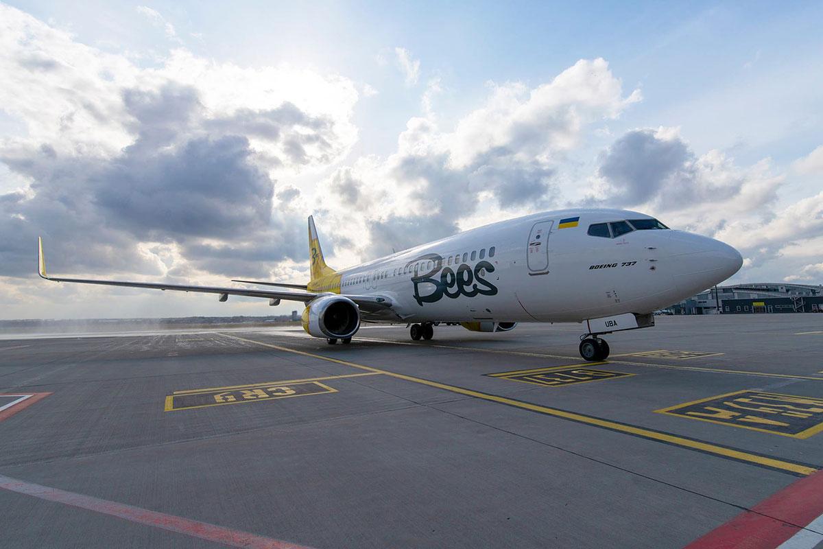 Bees Airline получила разрешения на регулярные и чартерные рейсы