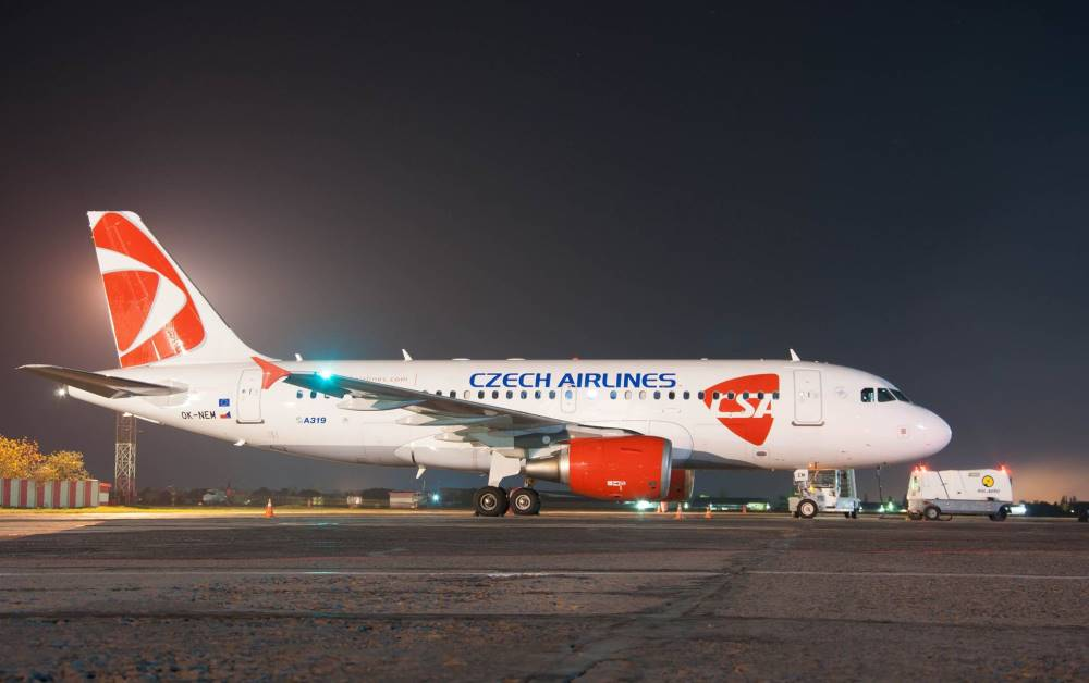 Czech Airlines подтвердила информацию о рейсах в Одессу