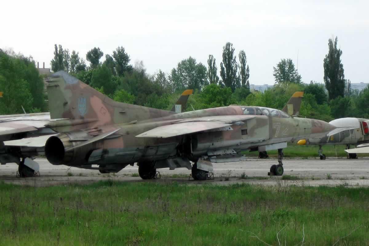 В Чугуеве утилизируют 18 самолетов