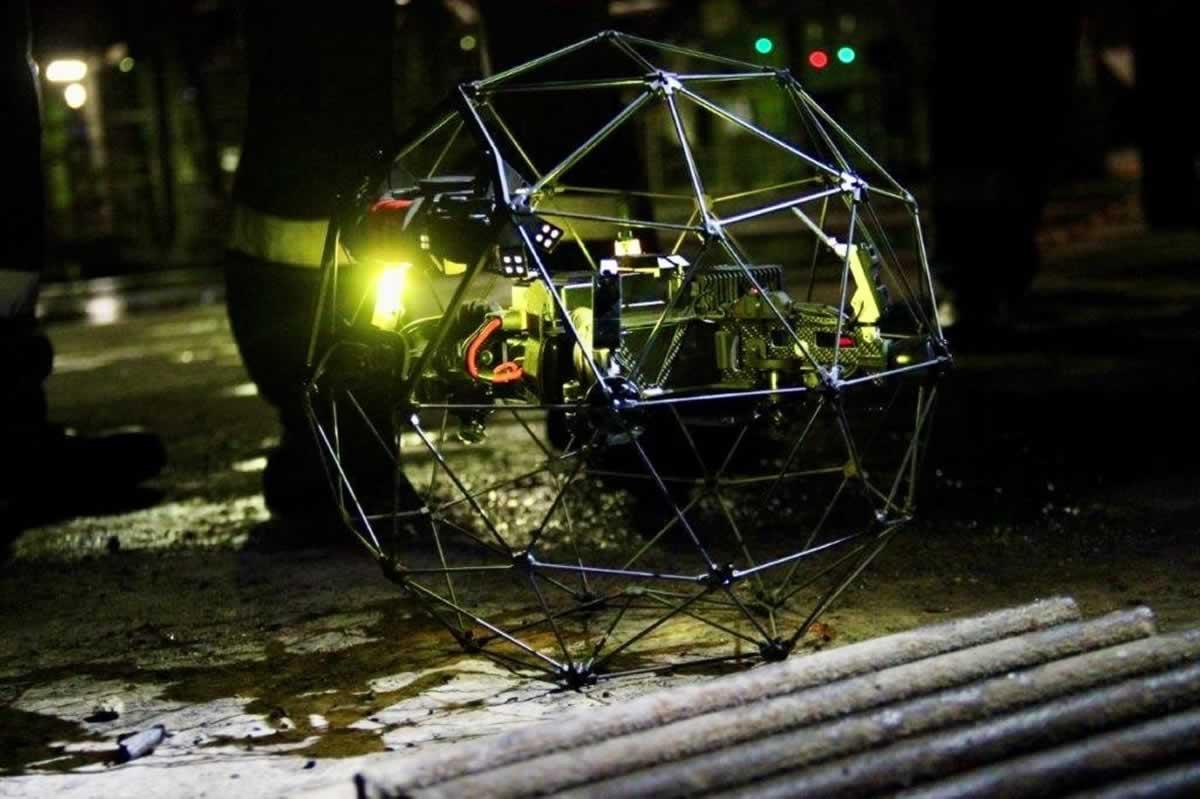 ДТЭК использует защищенный дрон-шар