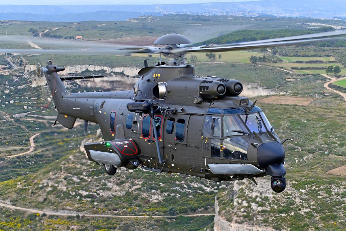 ВВС Сингапура получили свой первый вертолет Airbus H225M
