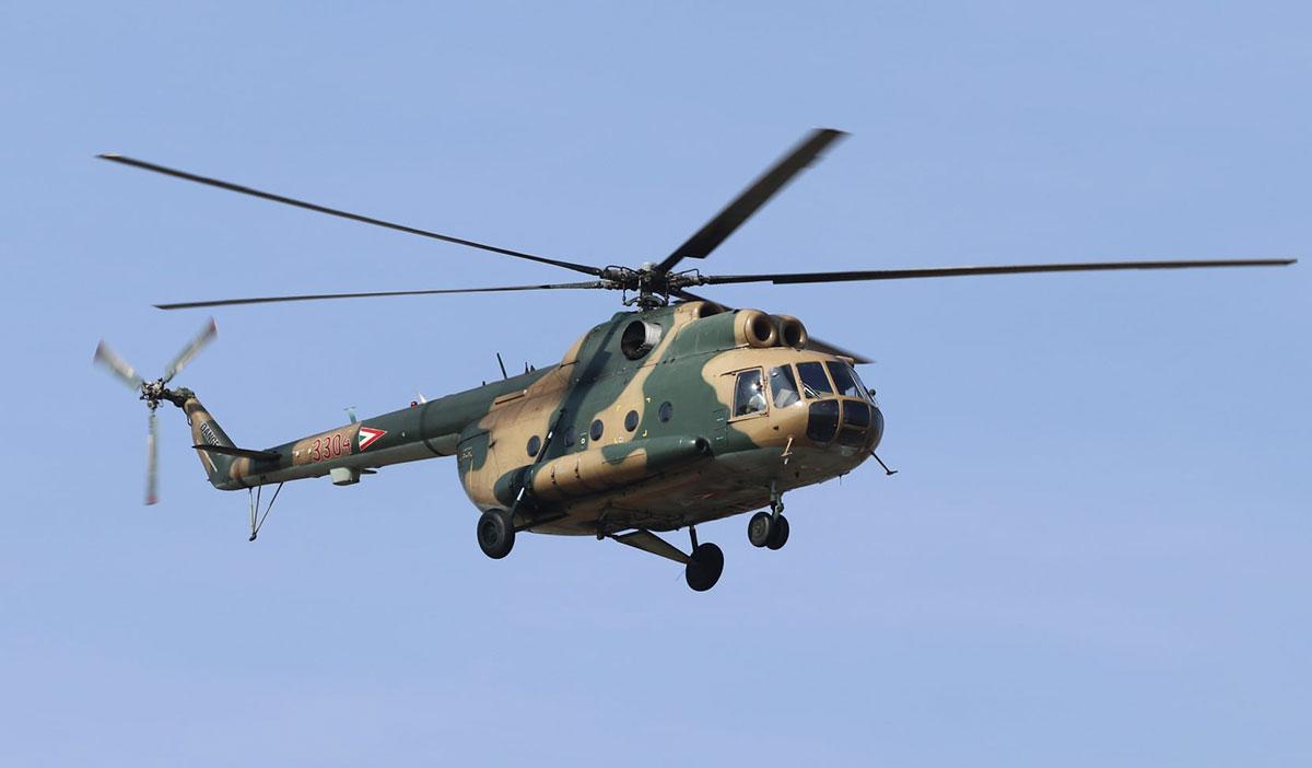 ВВС Венгрии попрощались с вертолетами Ми-8