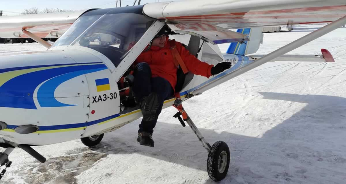 Харьковский аэроклуб начал сотрудничество со словенской летной школой
