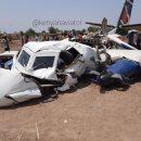 Появились фото Л-410, разбившегося в Южном Судане