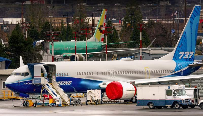 Парк эксплуатируемых самолетов Boeing 737MAX уже превысил сотню