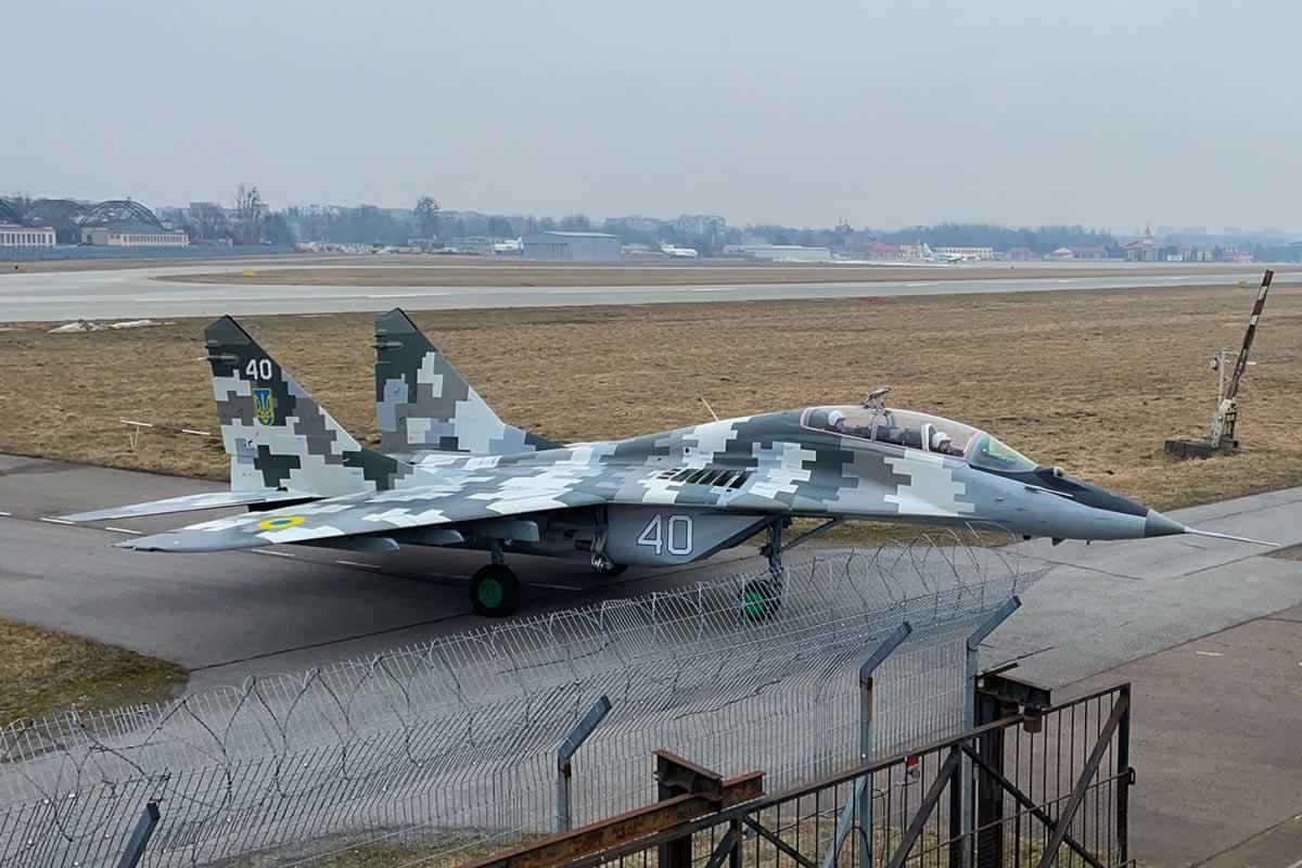 Воздушным Силам передали еще один МиГ-29УБ