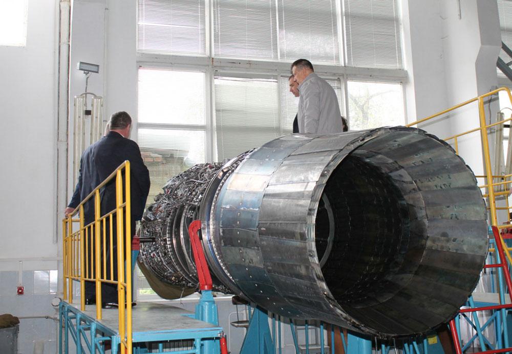 Для Воздушных Сил в Луцке отремонтируют 6 авиадвигателей