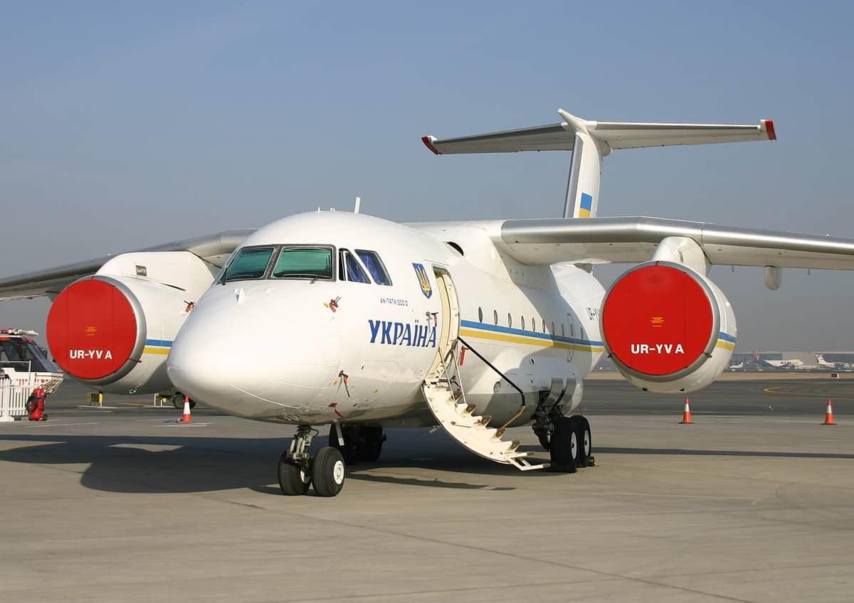 На самолетах Ан-72/74 хотят заменить российский двигатель на АИ-450