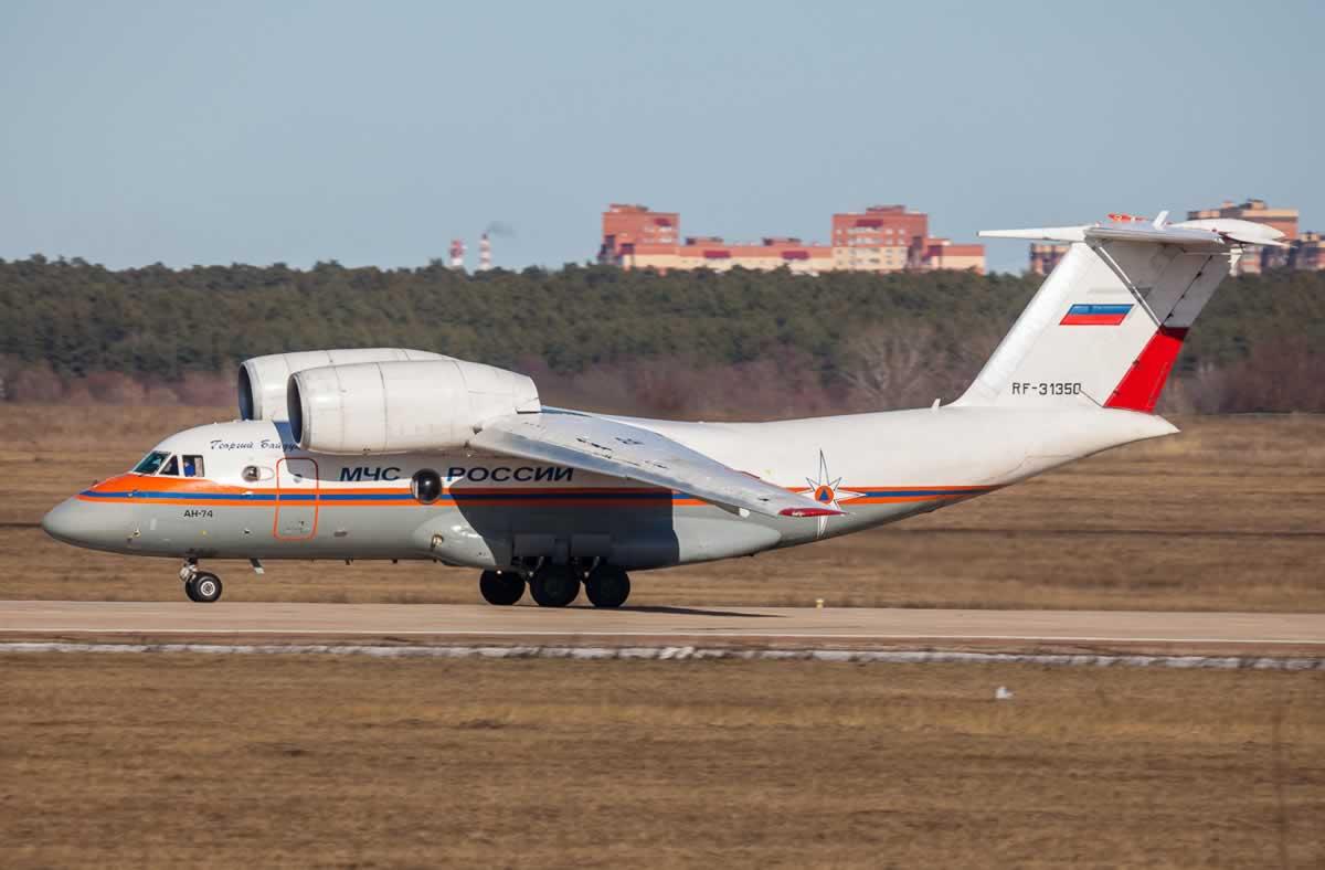 В России Ан-74 отказал сразу после ремонта