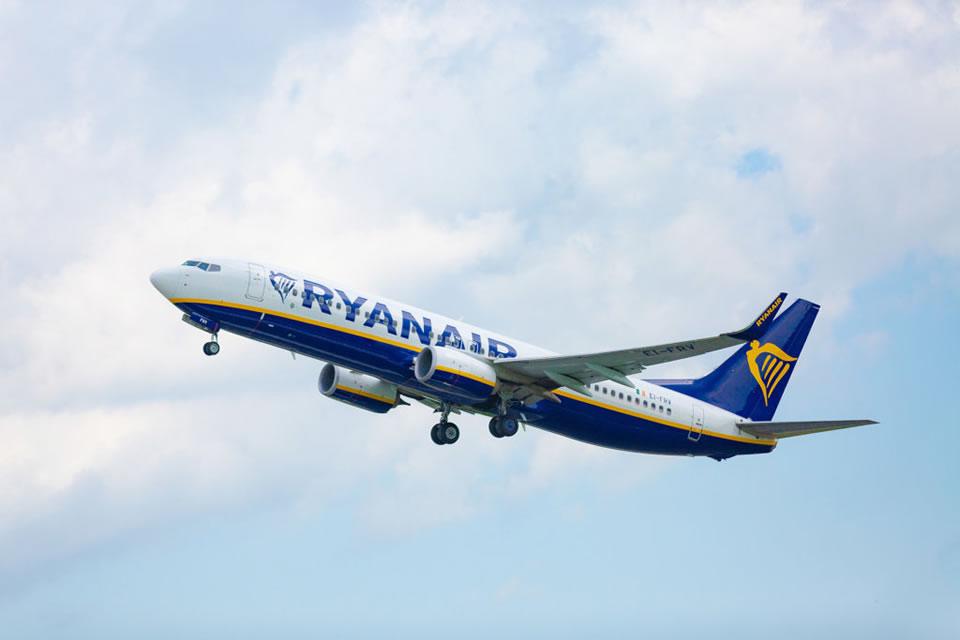 Ryanair откроет два новых направления из Украины