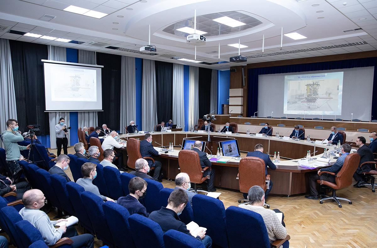 В ГКАУ проверили готовность работ по спутнику Сич-2-1