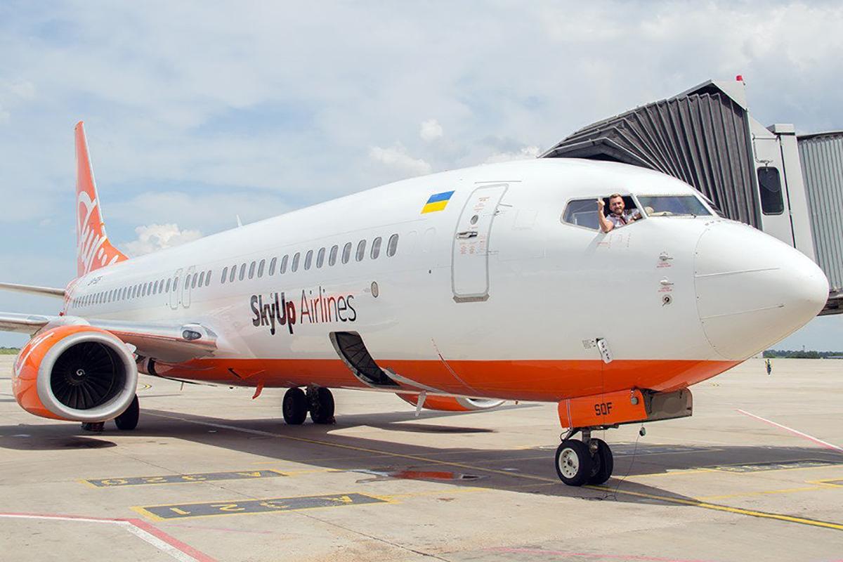 SkyUp начинает летать на Кипр из трех городов