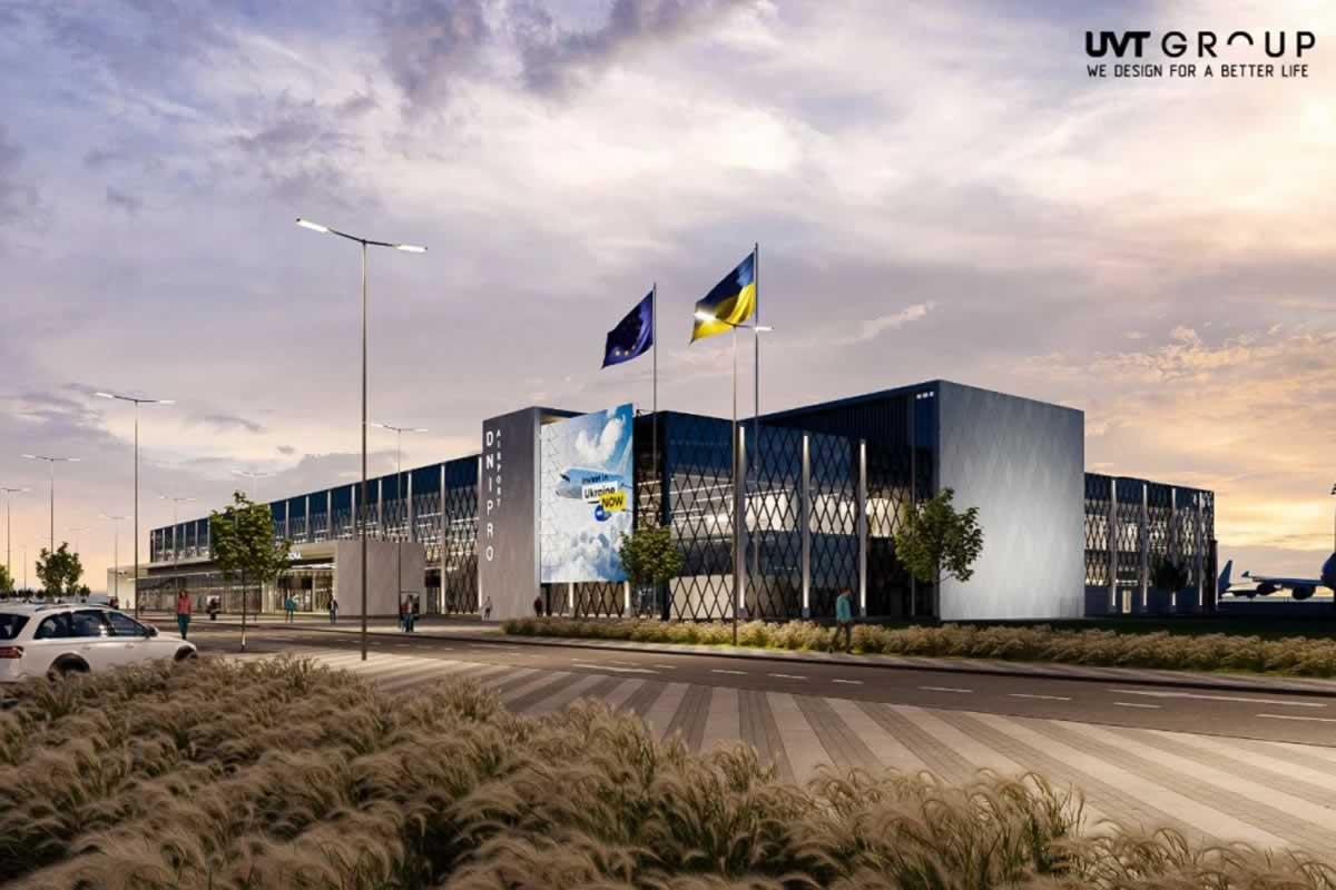 Госинфрапроект: работы в аэропорту Днепра идут по плану