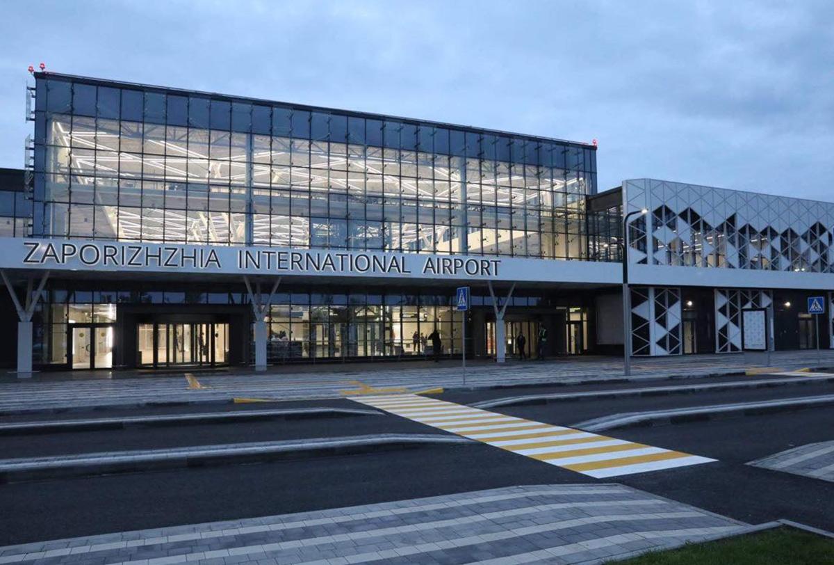 Аэропорт Запорожье сохранил  в условиях пандемии более половины рейсов