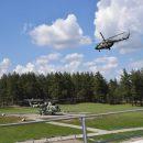 Вертолетчики бригады армейской авиации работали по наземным целям