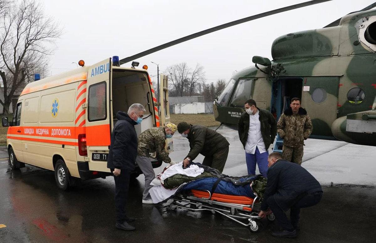 Аэромедицинская эвакуация : взаимодействие Нацгвардии и Нацполиции