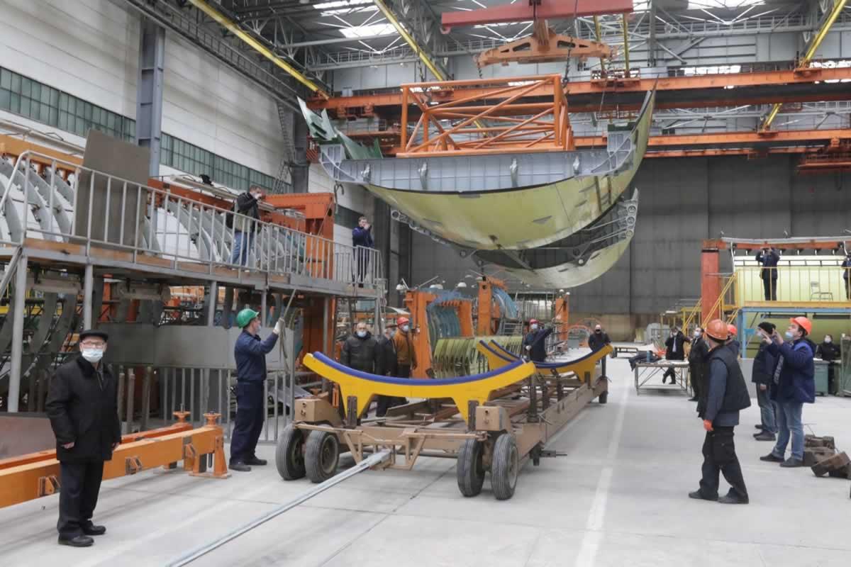 Министерство обороны контролирует график постройки Ан-178