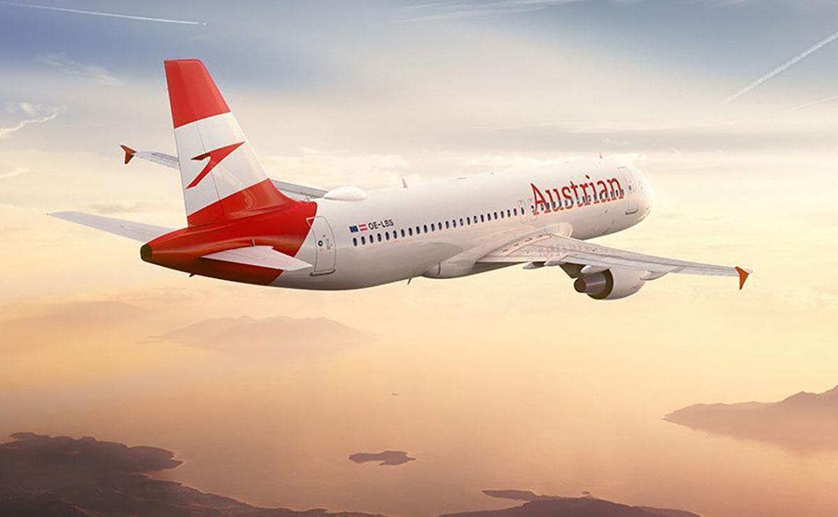 Austrian Airlines запускает рейсы в Запорожье