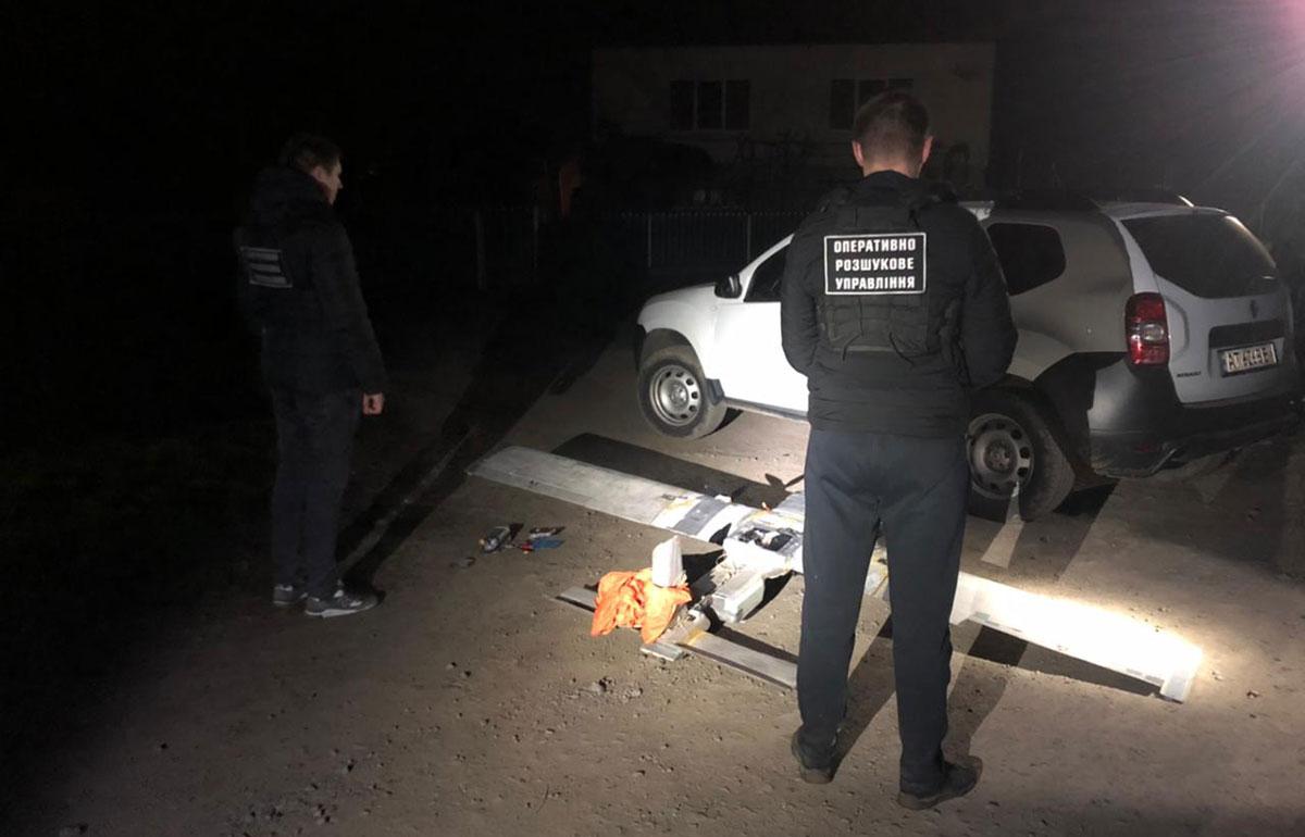 На Закарпатье пограничники обнаружили самодельный БПЛА