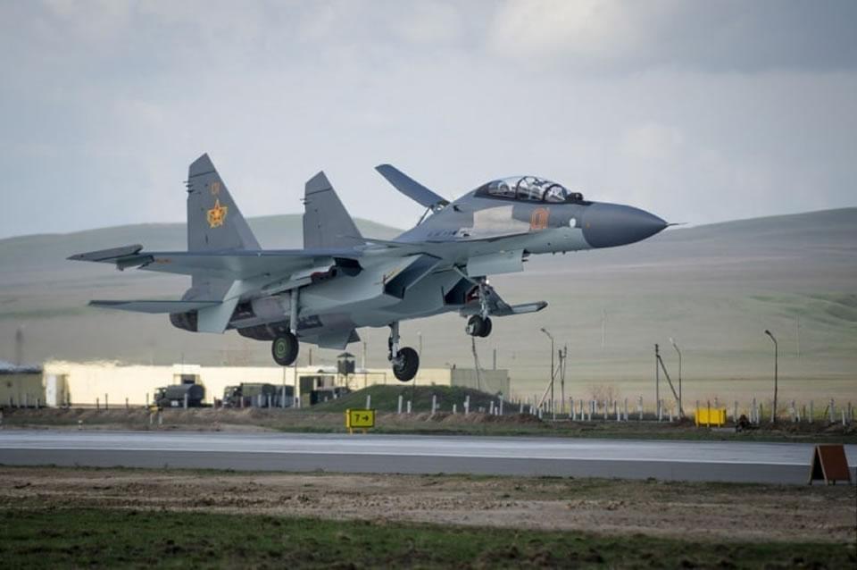 В Казахстане разбился Су-30