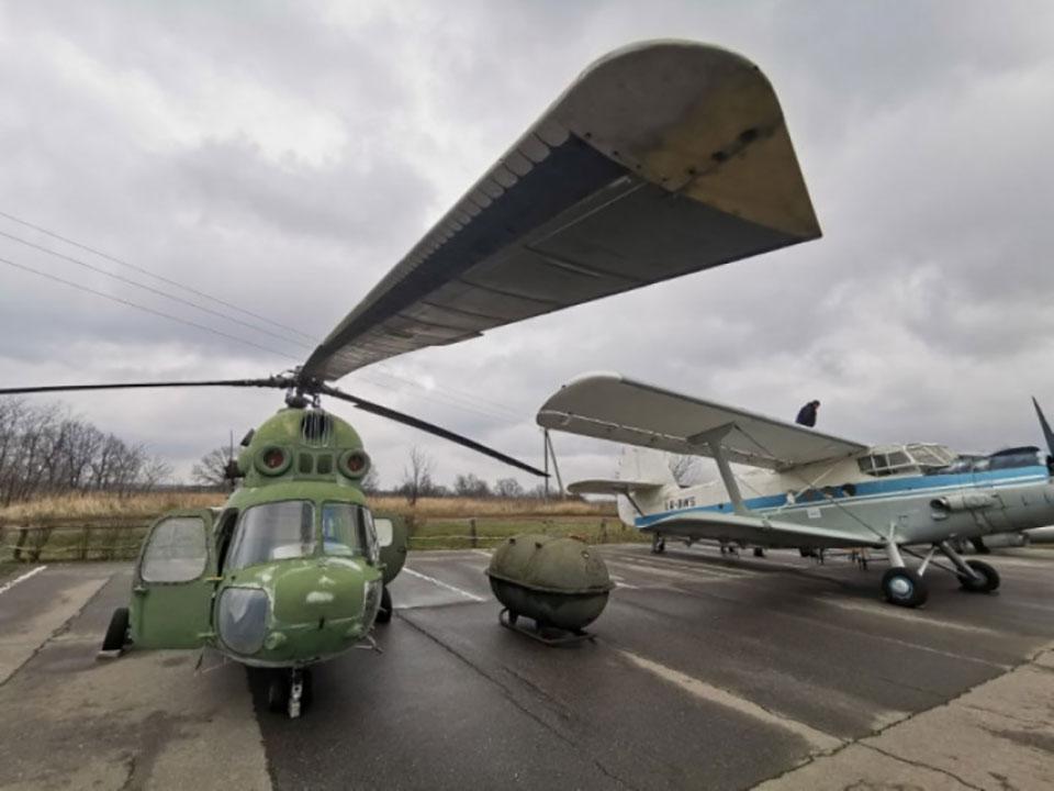 Харьковский облсовет приобрел для экспозиции самолеты и вертолет