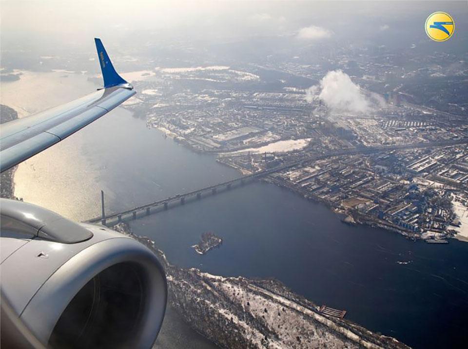 МАУ предлагает новый полет над Киевом и Чернобылем
